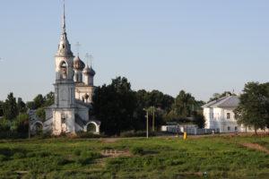 Вологда — в доме где резной палисад!