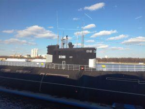 Музей подводной лодки в Москве