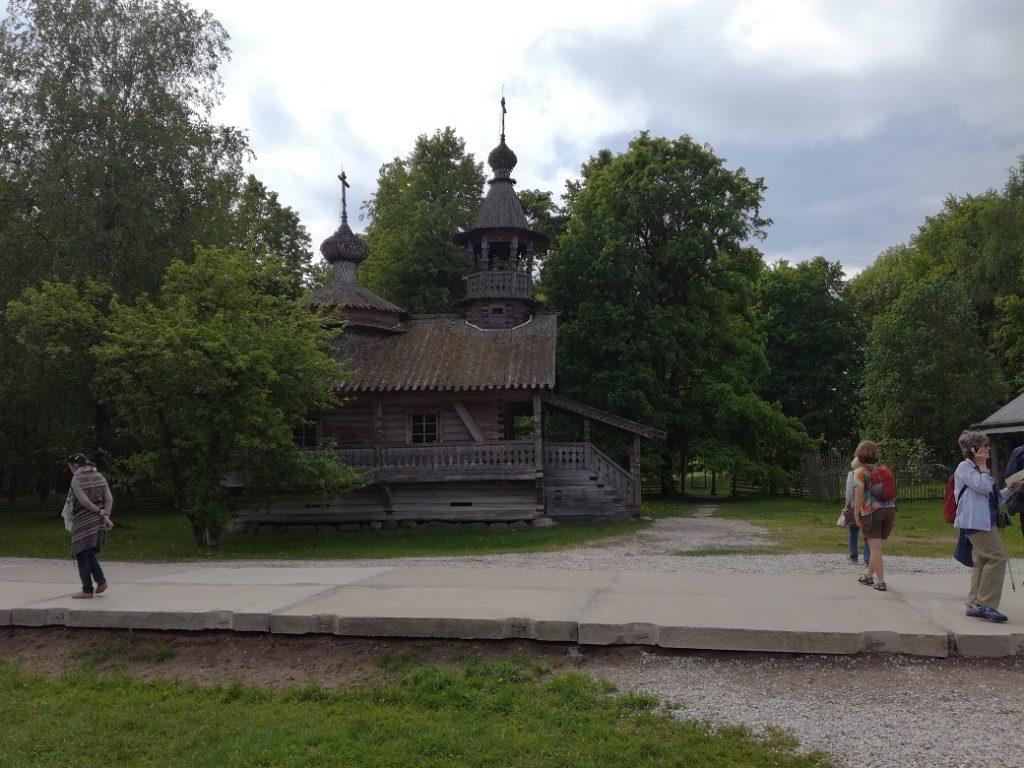музей деревянного зодчества Витославлицы 18