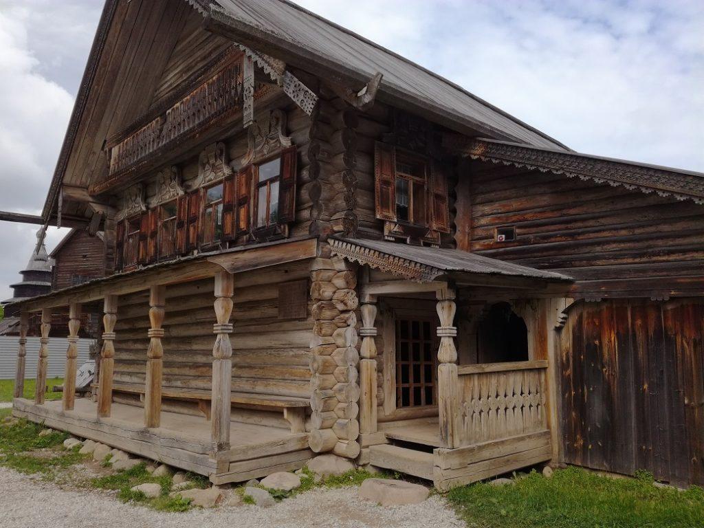 музей деревянного зодчества Витославлицы 17