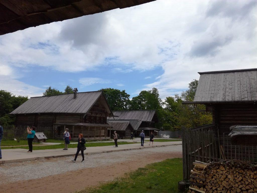 музей деревянного зодчества Витославлицы 2