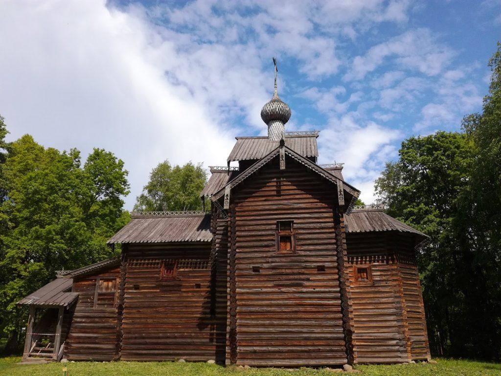 музей деревянного зодчества Витославлицы 1