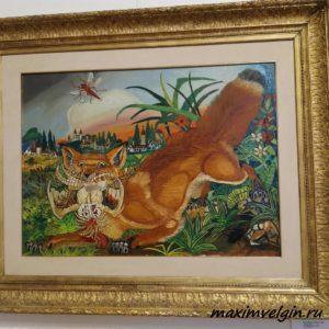 Выставка картин Антонио Лигабуэ