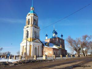 Церковь в Ильинском