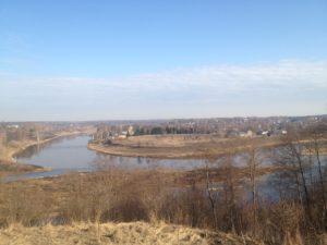 Город Зубцов — Две реки Волга и Вазуза