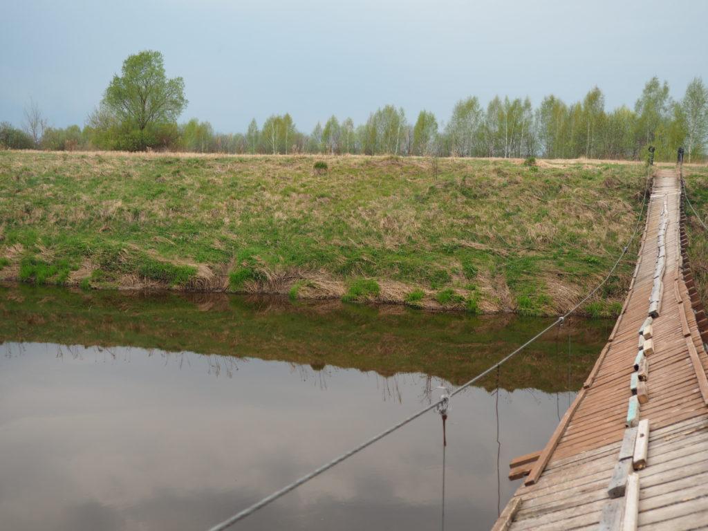 мост через Сестру в деревне Липино фото 4