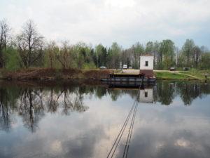 Переправа Мельдино через канал им. Москвы