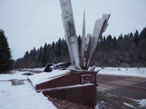 Памятник героям саперам.