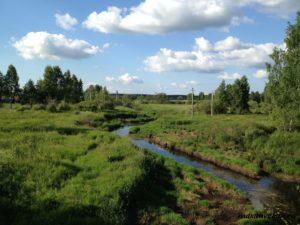 Подмосковная река Яуза
