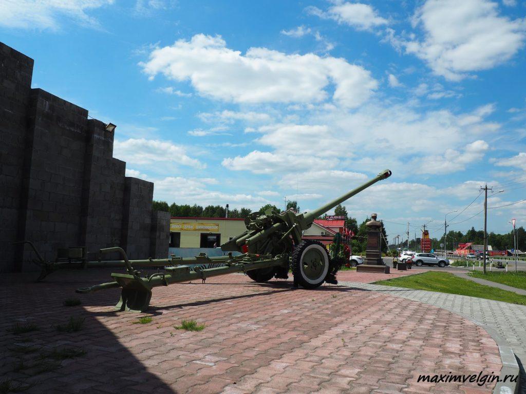 Памятник героям артиллеристам 4