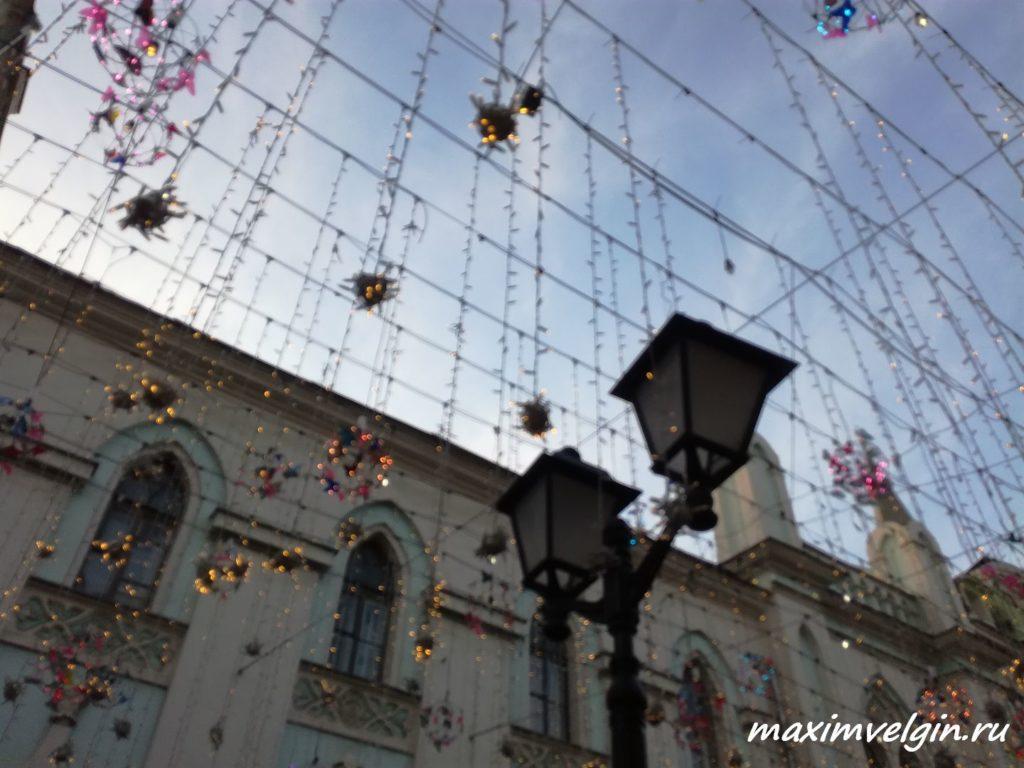прогулка по вечерней Москве 2