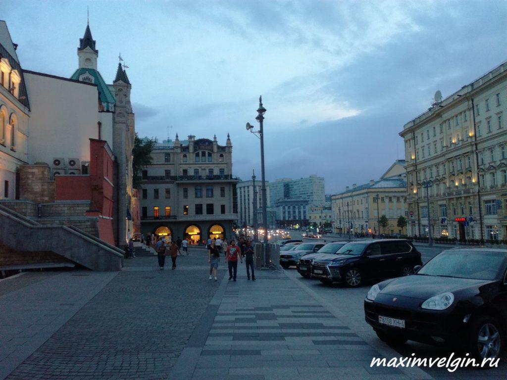 прогулка по вечерней Москве 3
