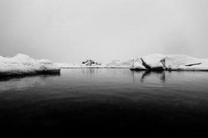 Движение айсбергов у берегов Гренландии