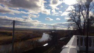 Смотровая площадка на реку Жиздра в городе Козельске