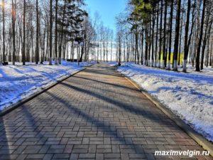 Городской парк в Волоколамске