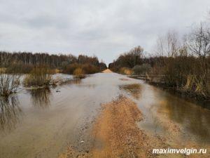 Паводок на Яузе