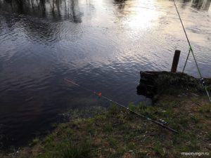 Рыбалка на Бушуе близ саньково