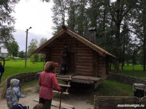 Сказочный музей Бабы Яги в селе Кукобой