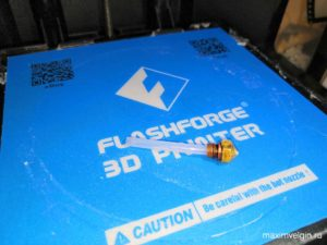 Замена тефлоновой PTFE трубки на FLASHFORGE FINDER
