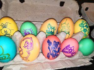 Разрисовка яиц при помощи  ЧПУ станочка