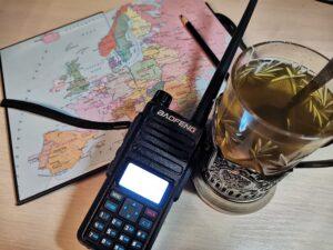 Цифровая портативная радиостанция Baofeng DM-1801