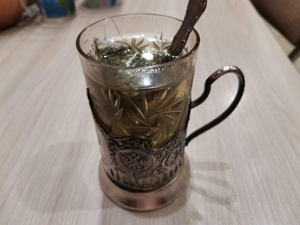 чай из самовара