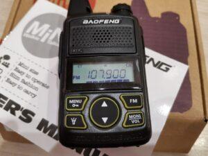 Baofeng BF-T1 — обзор радиостанции.